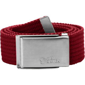 Fjällräven Merano Canvas Belt, deep red